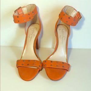 Jessica Simpson Orange Pumps